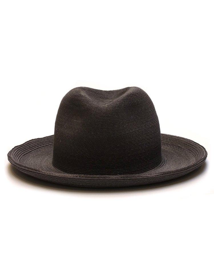 KIJIMA TAKAYUKI / HIGH LINE Linen Braid Center Crease Hat / No. S-191209