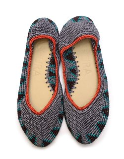 Crochet Ballerina Shoes - low