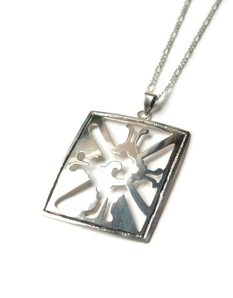 OAXACA Silver Necklace -