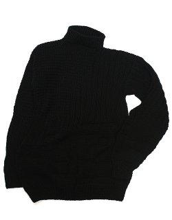 THE SCULPTOR JUMPER - textured merino wool