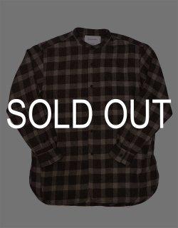 Banded Collar Shirt