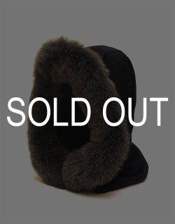 Cashmere Hood Fox-Fur Trim / No.S-192813