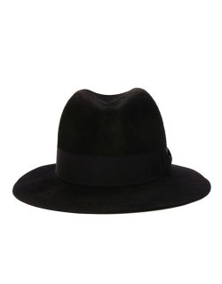 Waxed Rabbit Hair Felt Hat / No.S-182801