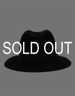 Waxed Rabbit Hair Felt Hat / No.S-182801