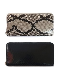 python long zip purse / di-rc-lzp
