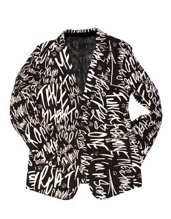 single breasted peaked lapel packable jacket  / sj.0006