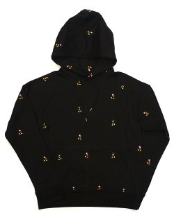 Mickey Mouse embroidered pullover hoodie. / sc.0030a