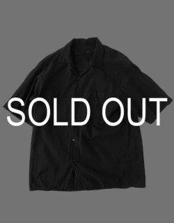 ベタシャン オープンカラーシャツ / Black