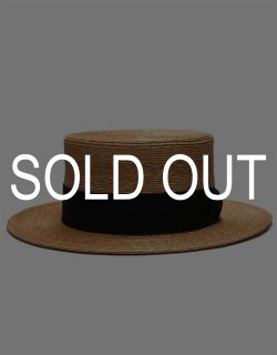 Straw Boater Hat / No.S-201207
