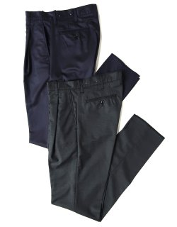 One-Tuck Trousers