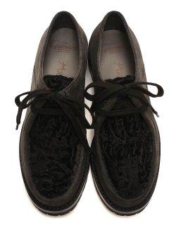 Tyrolean Shoes - ELBAMATT ROVESCIO x ASTRAKHAN / FG539.002