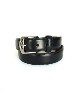 ALB-001 / Black Cordovan Dress Belt
