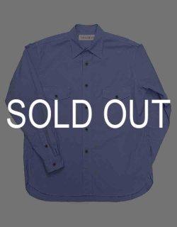VINCENT - 200/2 broadcloth garment dyed dress shirt / NN-Y01AS21