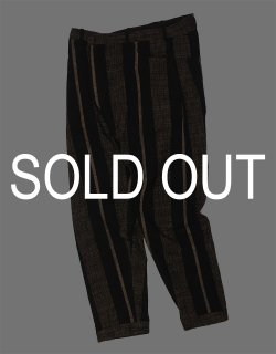 LOOSE FIT TAPERED TROUSERS / TROUSES#61