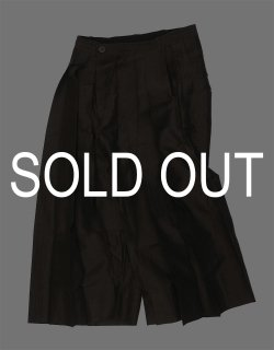 LOOSE FIT HAKAMA-STYLE TROUSERS / TROUSERS#62