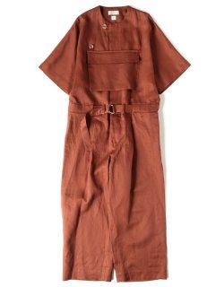 Front Pocket Jump Suit [ × Elise Gettliffe]