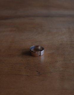 Tape Fold Ring  / SL925