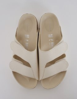 THE FORAGER SANDAL - Canvas Chalk