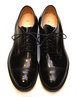 #56251 / Black Cordovan Cap Toe - Modified Last