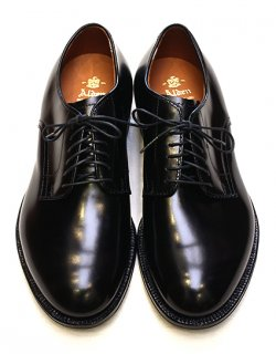 #53507 / Black Calf Plain Toe - Modified Last