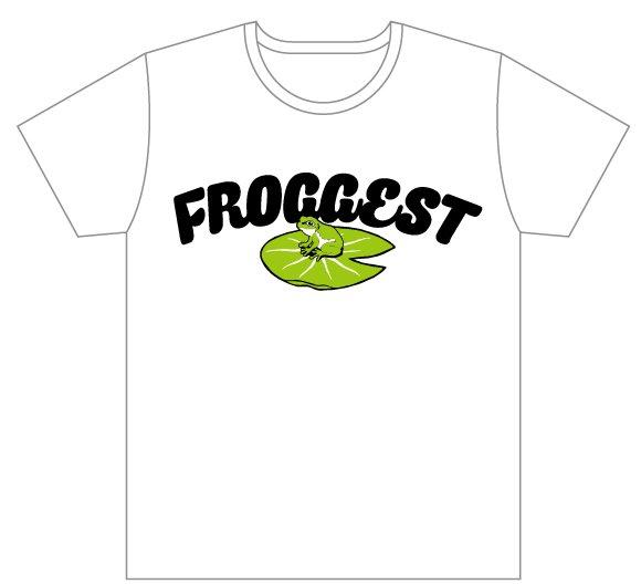 【FROGGEST】アマガエルTシャツ