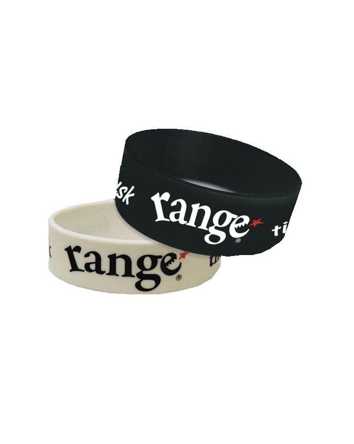 range rubber bracelet