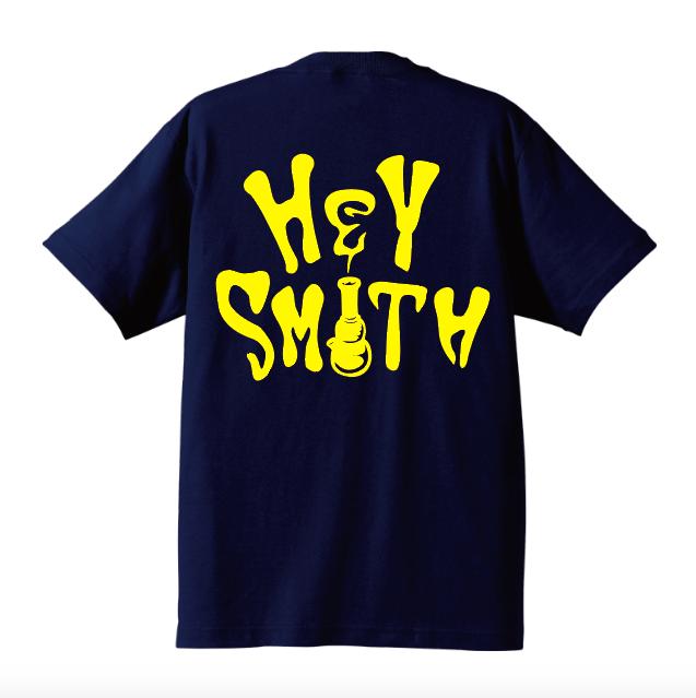 【HEY-SMITH】 NEW LOGO-T KIDS ※受注生産
