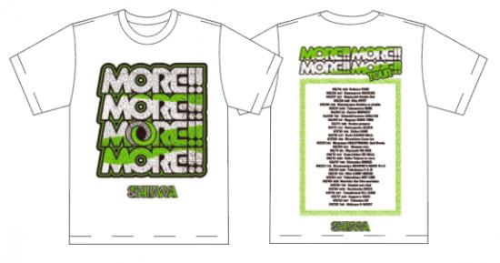 【SHIMA】MORE!!MORE!!MORE!!MORE!! TOUR Tシャツ