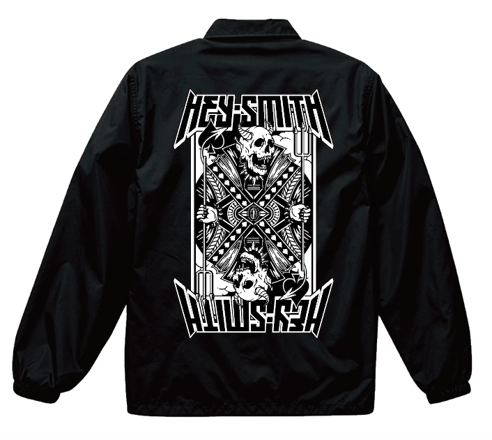 【HEY-SMITH】 2018 COACH JACKET