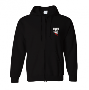 【HEY-SMITH】 LOGO zip-up hoodie