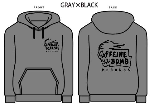 【CAFFEINE BOMB】Skull pull over hoodie