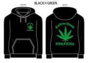 【CAFFEINE BOMB】Organics pull over hoodie