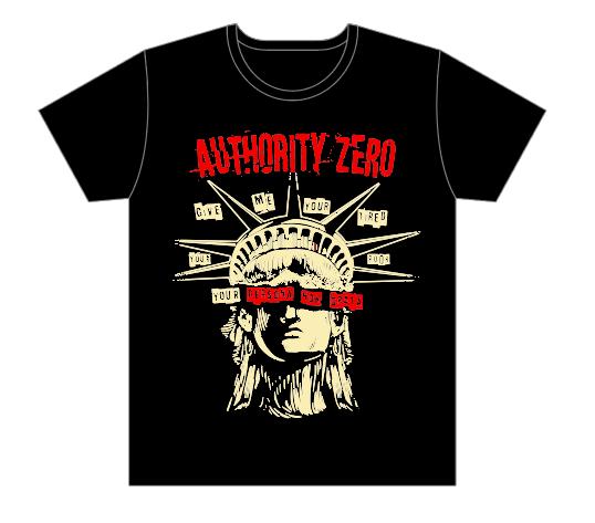 【AUTHORITY ZERO】Persona Non Grata T-shirts