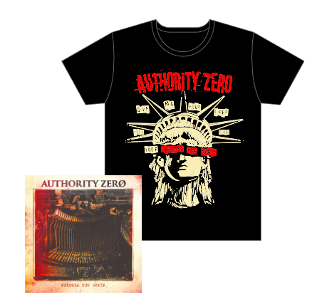【AUTHORITY ZERO】Persona Non Grata+T-shirtsセット
