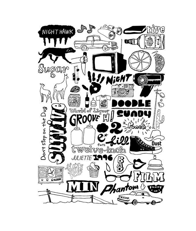 doodle 1C s/s tee