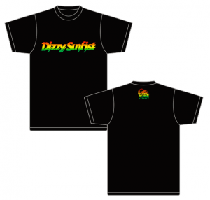 【Dizzy Sunfist】ロゴT2019ver.
