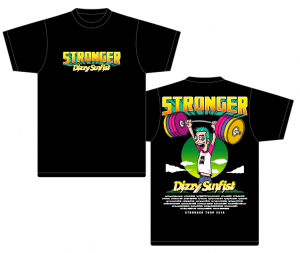 【Dizzy Sunfist】STRONGERツアーT