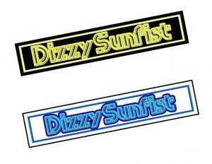 【Dizzy Sunfist】ロゴステッカーセット