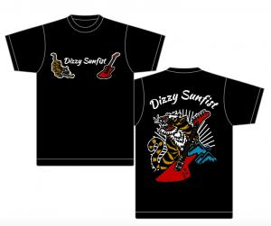 【Dizzy Sunfist】スカジャン風Tシャツ