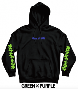【HEY-SMITH】 B pullover hoodie