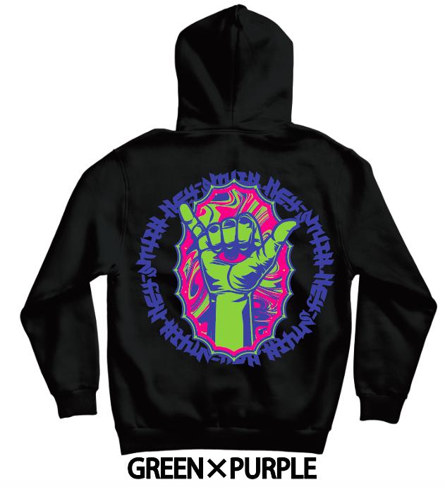 【HEY-SMITH】 B pullover hoodie【XXL専用】