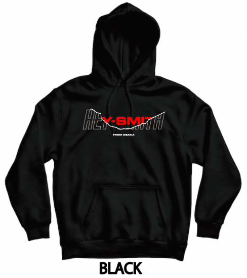 【HEY-SMITH】 D pullover hoodie