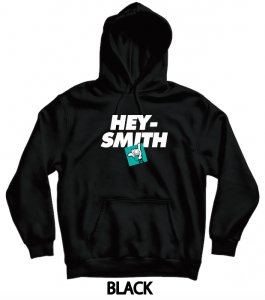 【HEY-SMITH】 E pullover hoodie