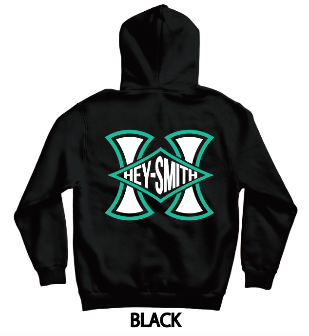 【HEY-SMITH】 A zip-up hoodie