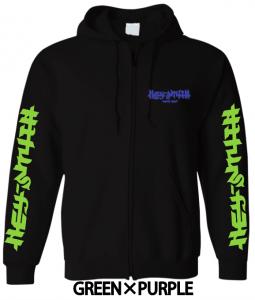 【HEY-SMITH】 B zip-up hoodie