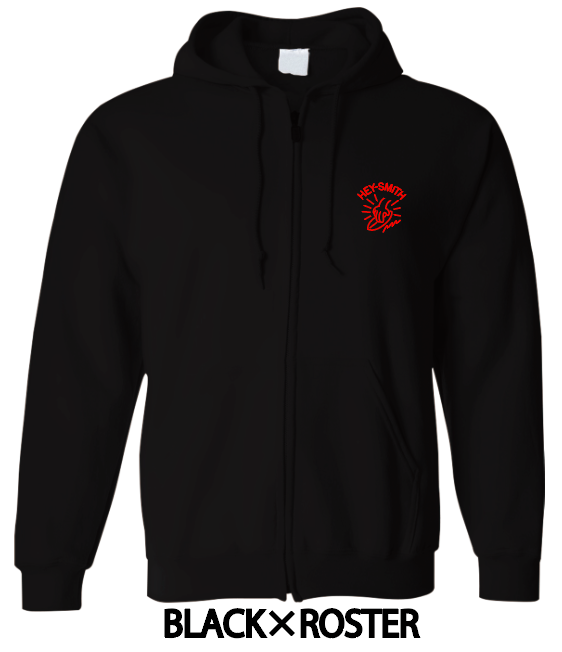 【HEY-SMITH】 C zip-up hoodie