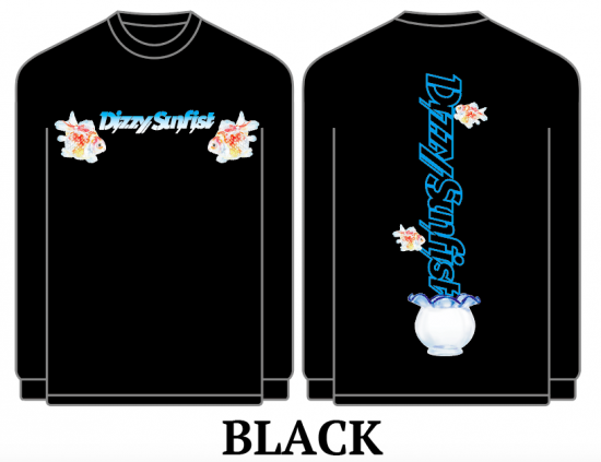 【Dizzy Sunfist】KINGYO Long Sleeve-T