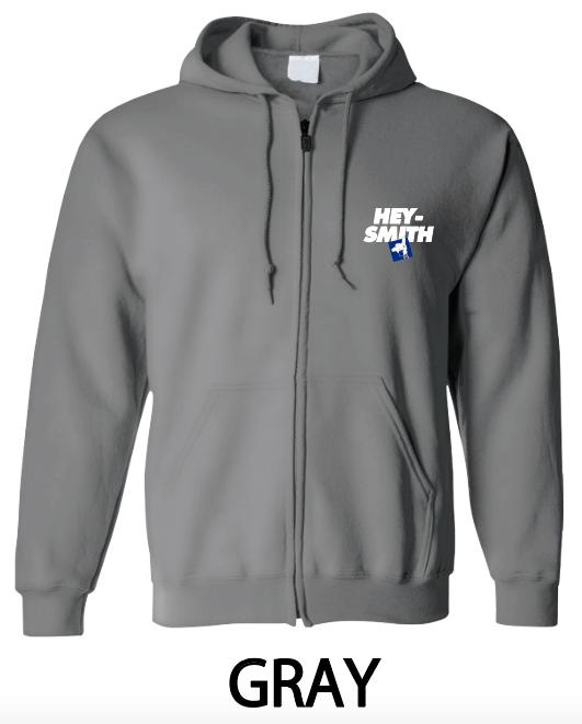 【HEY-SMITH】 E zip-up hoodie