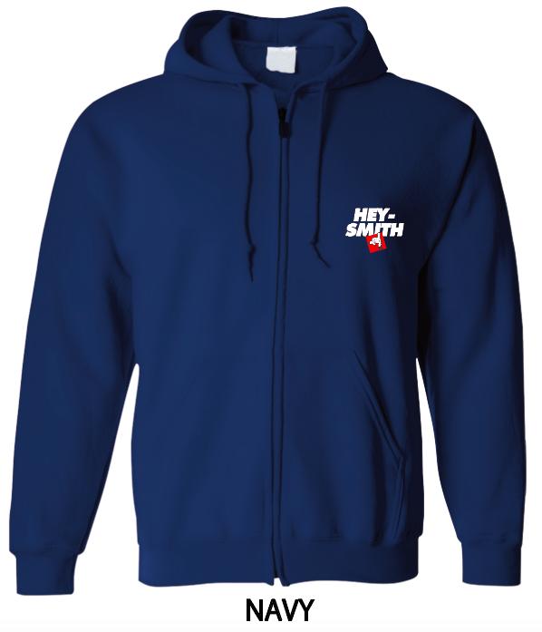 【HEY-SMITH】 E zip-up hoodie【XXL専用】