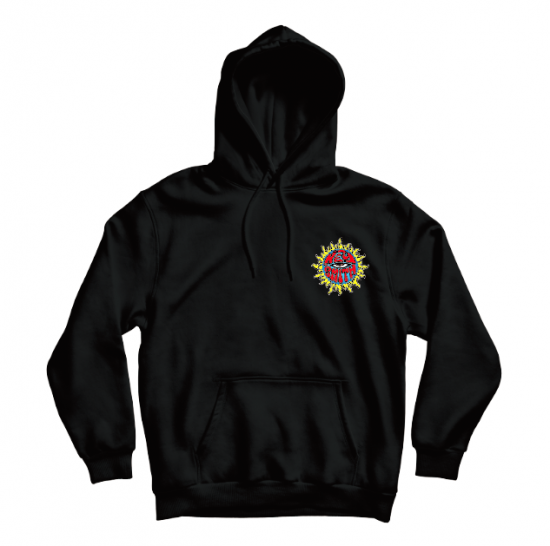 【HEY-SMITH】 Mexican Skull pullover hoodie